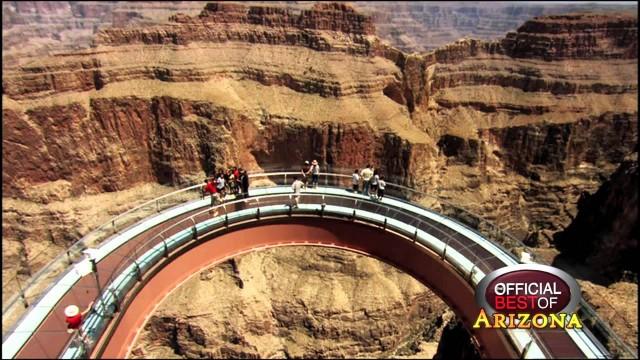 Grand kanyon fölött