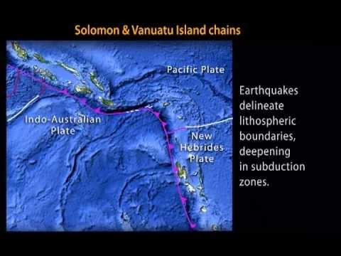 Szigetívek: Salamon-szigetek, Vanuatu
