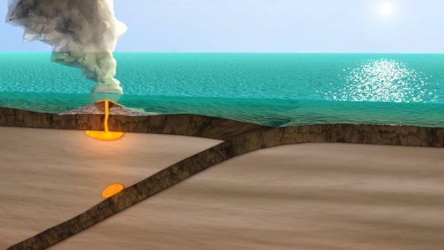 Közeledő óceáni kőzetlemezek