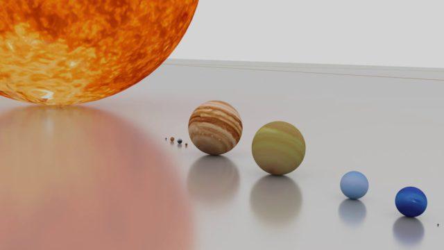 Mekkora a Naprendszer?