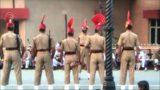 Határzáró ceremónia India és Pakisztán között