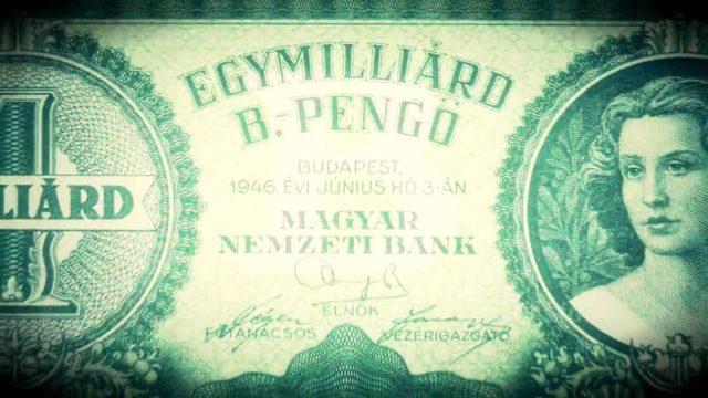 Hiperinfláció Magyarországon