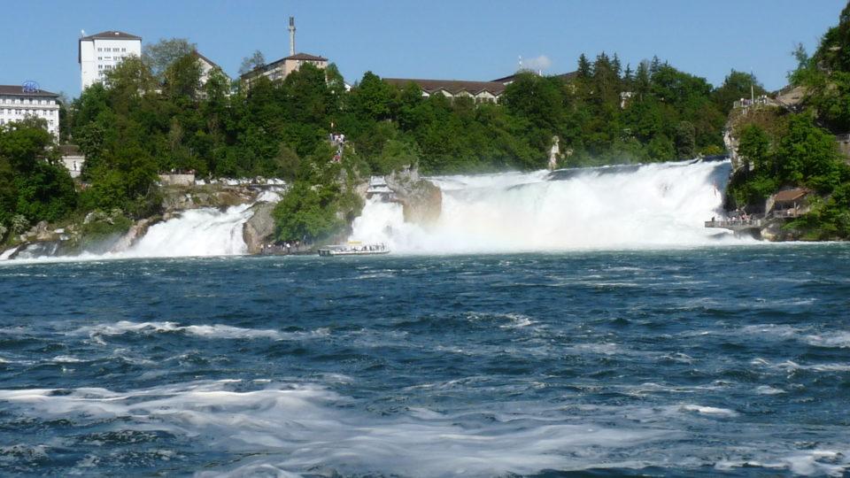 Rheinfall: vízesés schaffhausennél